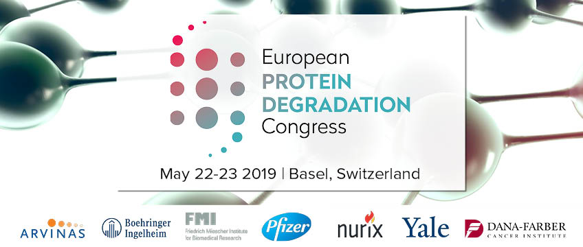 European Protein Degradation Congress Big Banner for Events Page and Newsletter. Big Banner for Events Page and Newsletter.