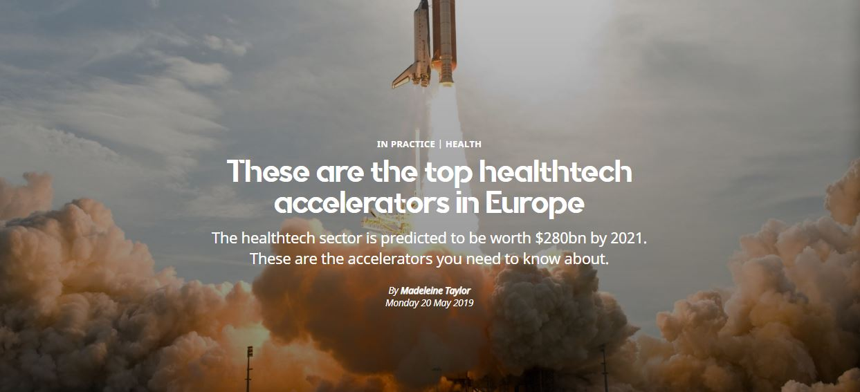 Sifted top healthtech accelerator in Europe